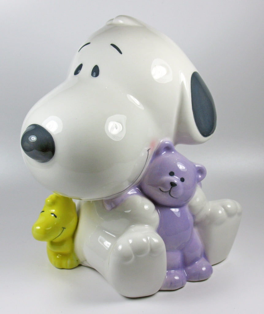 Baby Snoopy Porcelain Bank
