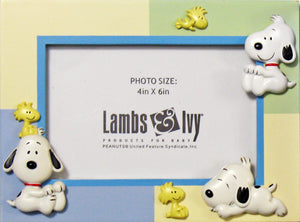 Baby Snoopy 2-D Picture Frame