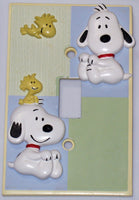 Baby Snoopy 2-D Switch Plate Cover (Lightly Used)