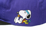 Snoopy and Woodstock Hippies PEACE Sign Ball Cap