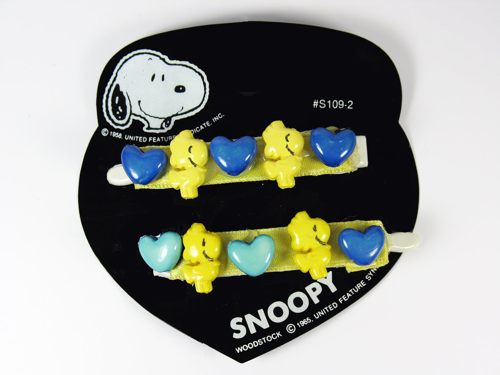 Woodstock Hearts Barrette Set