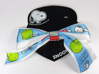 Snoopy Satin Bow Barrette