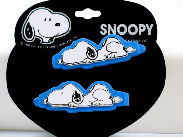 Snoopy Barrette Set