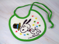 Snoopy Baby Bib (Used But Very Good Condition)