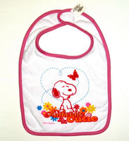 Snoopy Baby Bib - Authentic Cutie - Special Low Price!