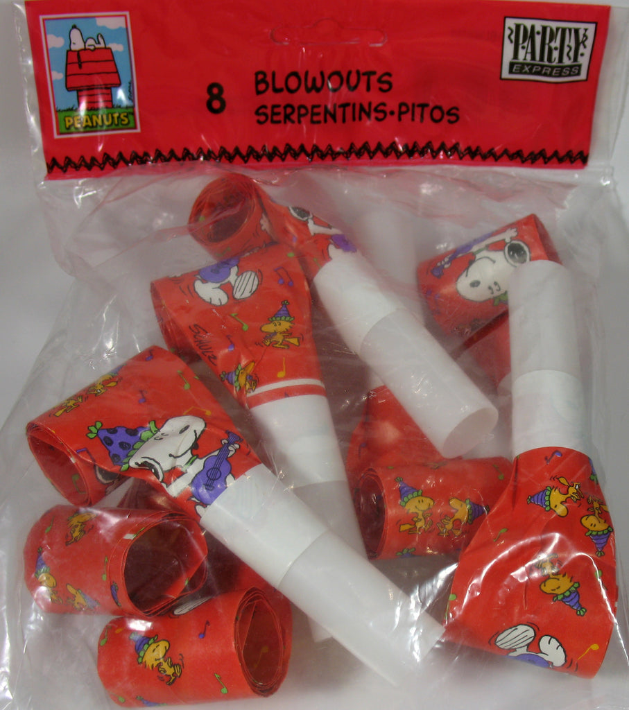 Snoopy Party Blowouts