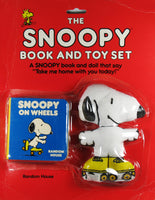 Snoopy Chunky Book and (Pillow Doll) Toy Set