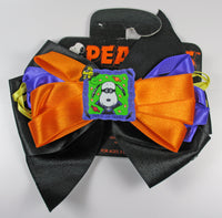 Snoopy Halloween Satin Bow Barrette
