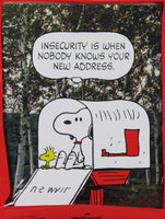 Snoopy New Home Note Cards