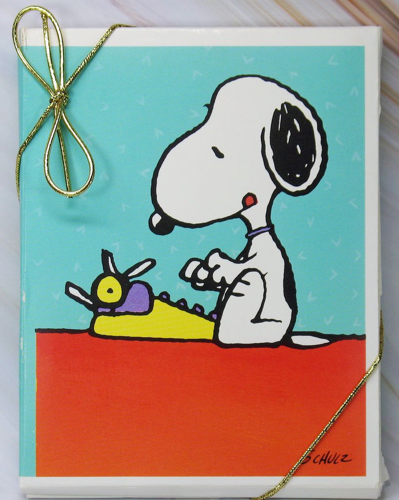 Snoopy Blank Note Cards - Hi!
