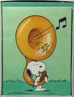 Snoopy Tuba Blank Note Cards