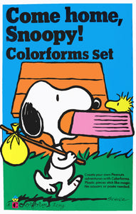 Come Home Snoopy! Colorforms Set