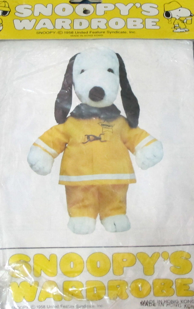 "Snoopy 18"" Plush Doll Outfit - Fireman"