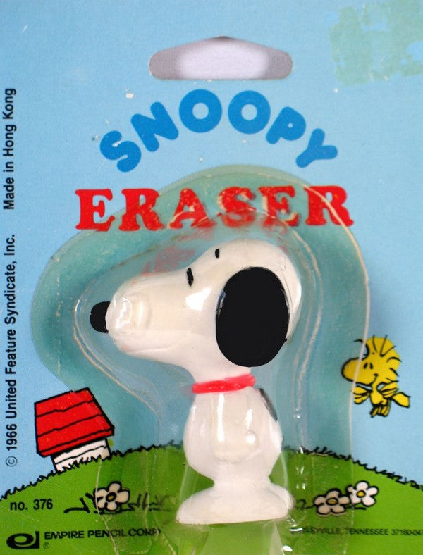 Snoopy Shaped Eraser