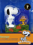 60th Anniversary Edition Snoopy & Woodstock Figures - Halloween Memory Lane
