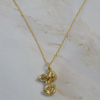 Snoopy 18 Karat Gold Necklace - RARE!