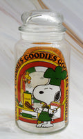 Snoopy Chef Goodie Jar - RARE!
