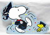 Snoopy Large Graduation Die-Cut Wall Decor