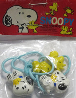 Snoopy and Woodstock Pony Tail Holder Hair Band Set