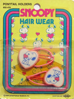 Snoopy Vintage Pony Tail Holder Hair Band Set