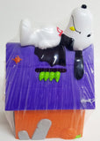 Snoopy Candy-Filled Halloween Doghouse Bank