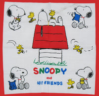 Snoopy and His Friends Handkerchief (Manufacturer Flaw)