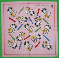 Snoopy Imported Handkerchief / Scarf / Bandanna - Joe Cool