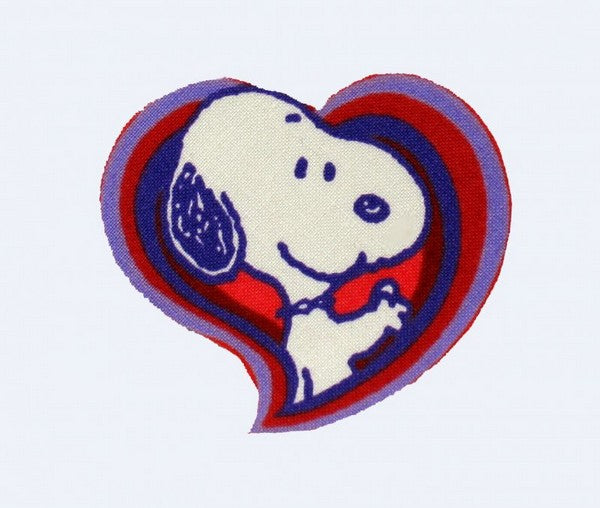 SNOOPY HEART PATCH