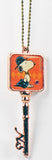 Snoopy Key-Shaped Metal Key Chain
