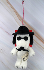"Joe Cool Plush Doll Key Chain - ""Joe Black Jack"""
