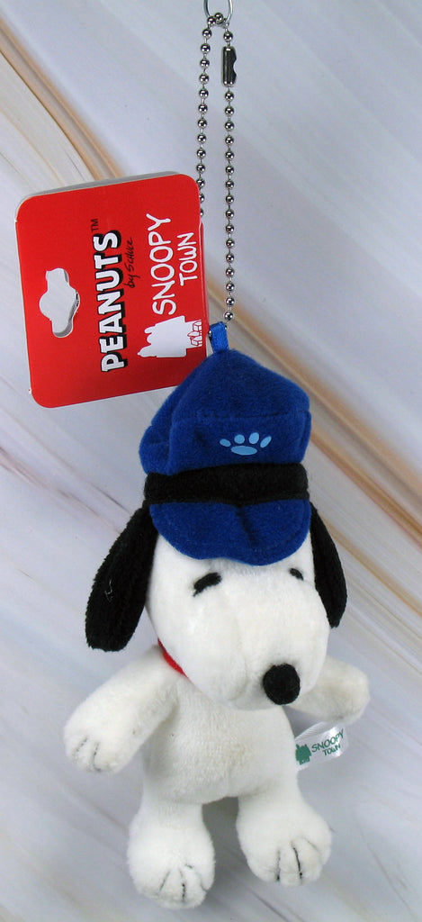 Snoopy Town Plush Doll Key Chain