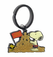 CAMP SNOOPY SAND CASTLES Key Ring