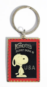 Knott's Berry Farm Snoopy Key Ring