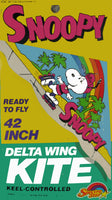 SNOOPY DELTA WING Kite - Rollerblader