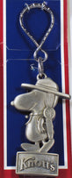 Knott's Camp Snoopy Pewter Key Ring / Ornament / Wall Decor (Thick!)