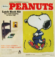 Snoopy Jogger Latch Hook Kit