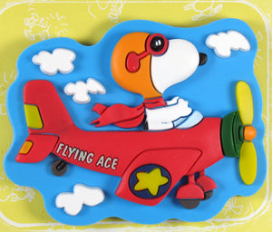 Flying Ace 2-D PVC Vinyl Magnet