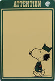 Snoopy Beagle Scout Write-On Memo Board