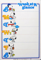 Snoopy Write-On Memo Board