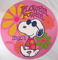 Computer Mouse Pad - Joe Cool Flower Power