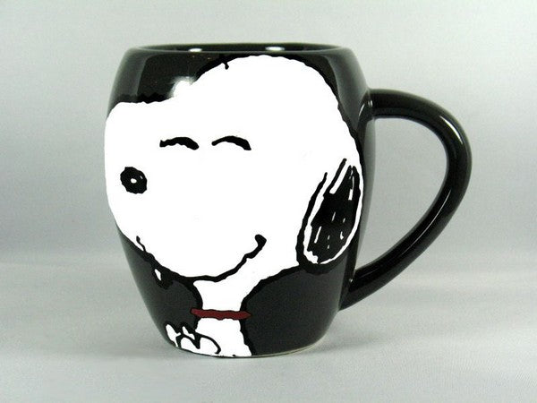 "Large ""Bloated"" Mug - Snoopy"