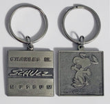 Charles M. Schulz Museum Metal Key Ring