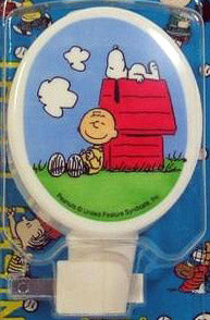 Charlie Brown and Snoopy Vintage Night Light