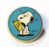 Snoopy reads ghost stories vintage night light
