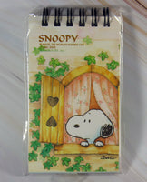 Snoopy Tri-Color Spiral Notebook