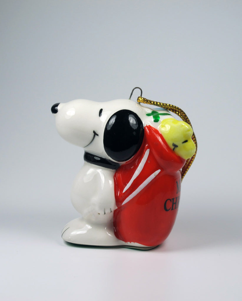 1981 Snoopy's Sack of Gifts Christmas Ornament