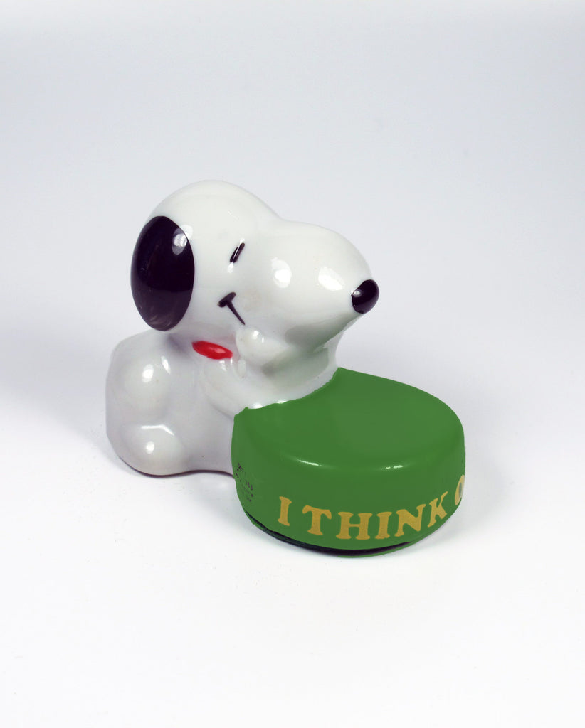 Snoopy Mini Paperweight - I Think Of You