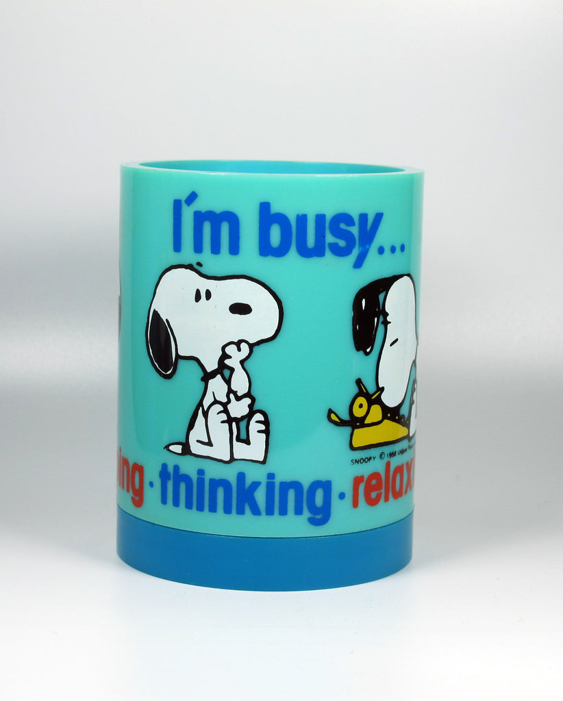 Snoopy Rotating Pencil Cup