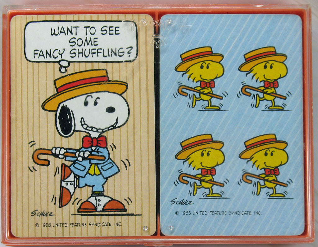 Snoopy Double-Deck Playing Cards Boxed Set