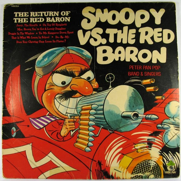 Snoopy and The Red Baron LP Record